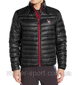 Мужская куртка Spyder Men's Prymo Down Jacket, Black/Red, L размер
