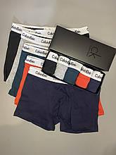 Мужские трусы боксеры в фирменной подарочной упаковке 4 шт. Трусы транки боксеры шорты мужские 8 XXL