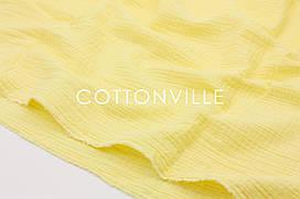 Муслін жатка Лимонно-жовтий 135 см