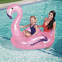 Детский Надувной Плотик Bestway 41122 Фламинго 122х105х99 см, фото 1