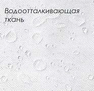 Тканинна шторка для ванни і душа 180х180 см Three butterflies, фото 3