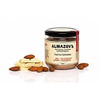 Паста ореховая миндаль с белым шоколадом 200 г