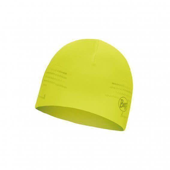 Шапка Buff Microfiber Reversible Hat, R-Solid Yellow Fluor (BU 118176.117.10.00)