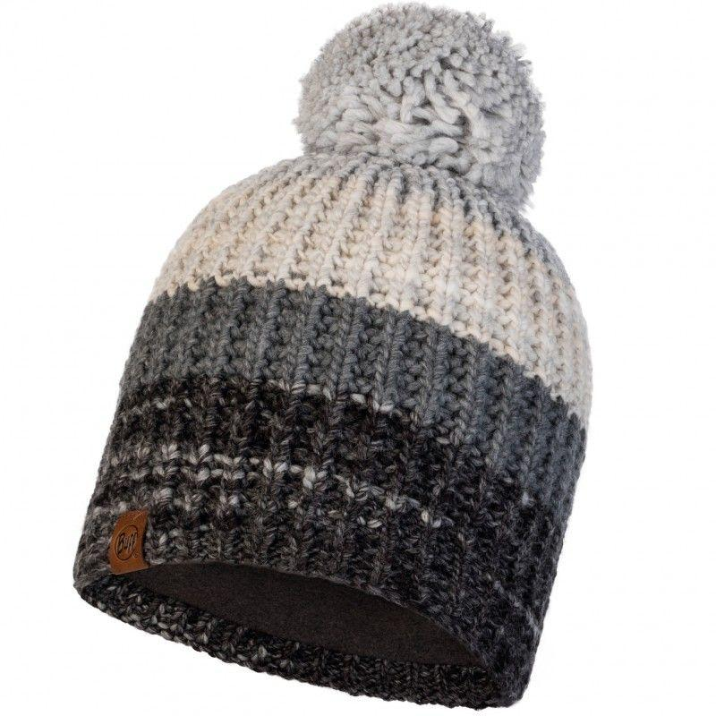 Шапка Buff Knitted & Polar Hat Alina, Grey (BU 120838.937.10.00)
