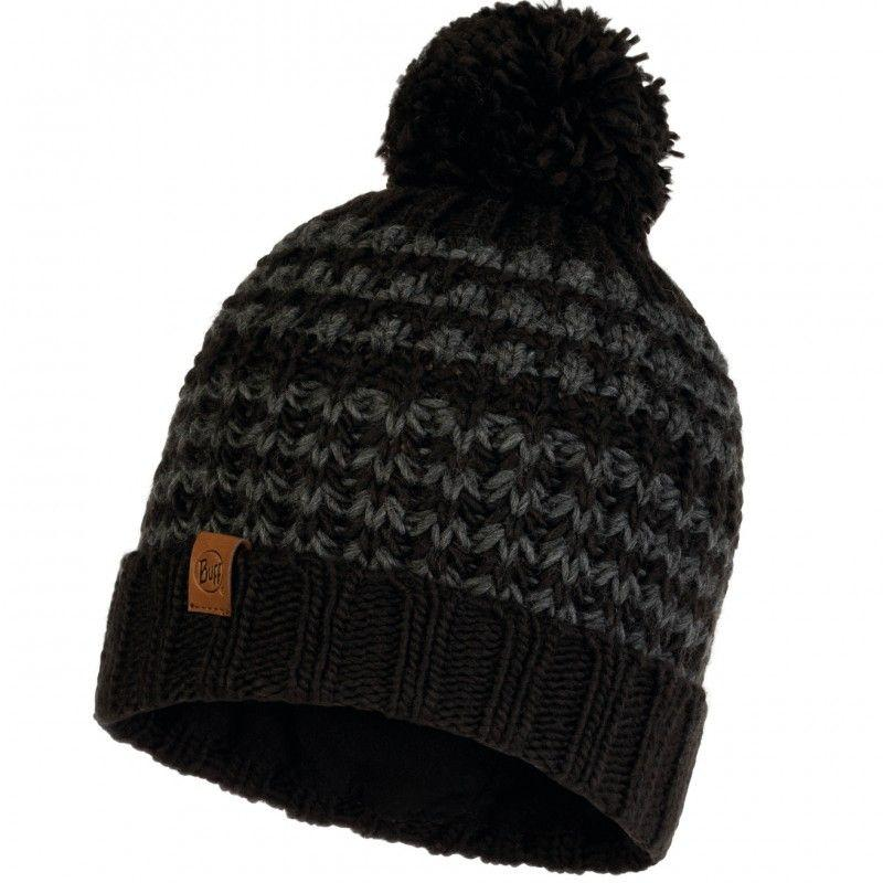 Шапка Buff Knitted & Polar Hat Kostik, Black (BU 120841.999.10.00)