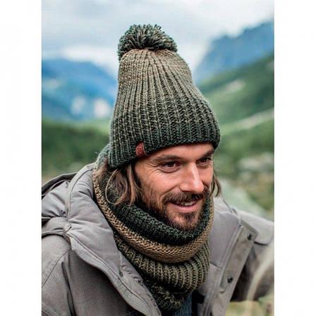 Шапка Buff Knitted & Polar Hat Kostik, Black (BU 120841.999.10.00), фото 2