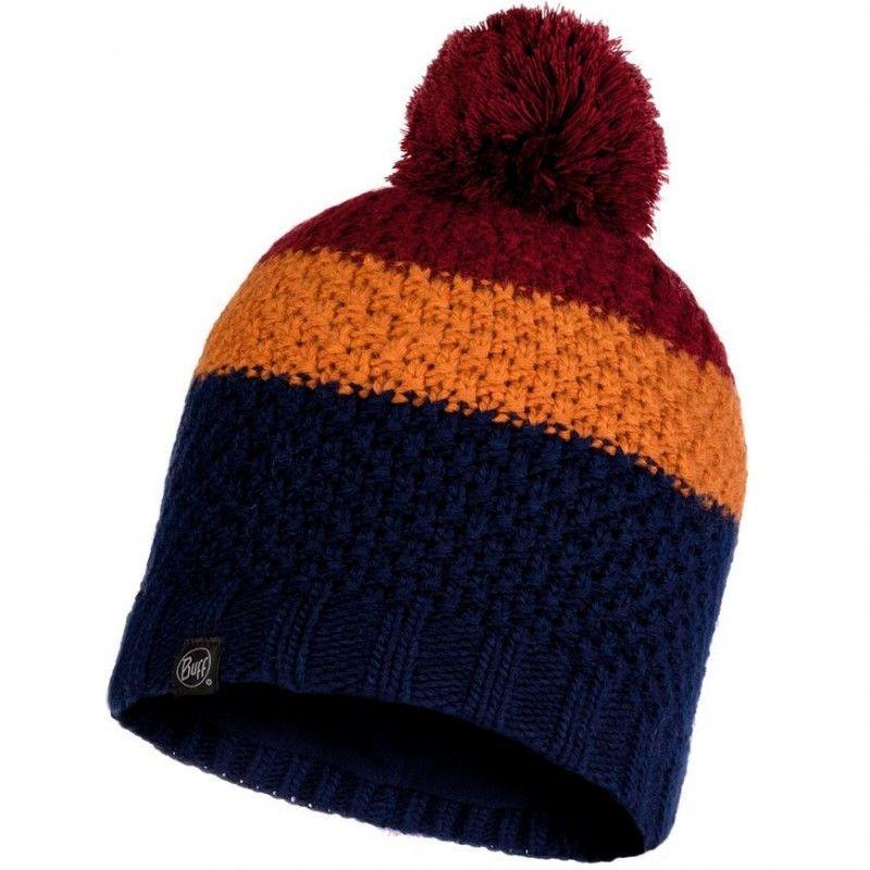 Шапка Buff Knitted & Polar Hat Jav, Night Blue (BU 120857.779.10.00)