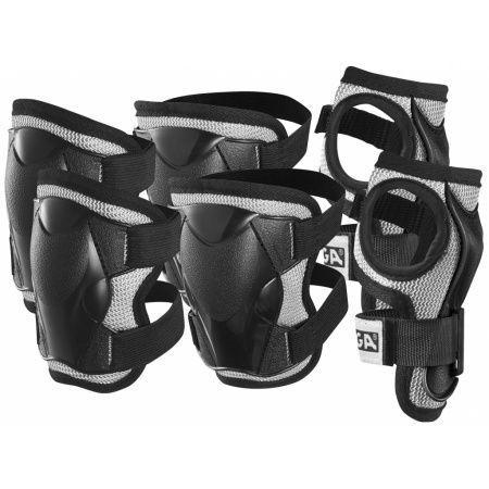 Комплект защиты Stiga Comfort JR (M), цвет черный