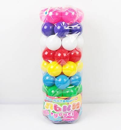 Кульки для сухого басейну 62 шт. в пакеті БАМСИК, фото 2