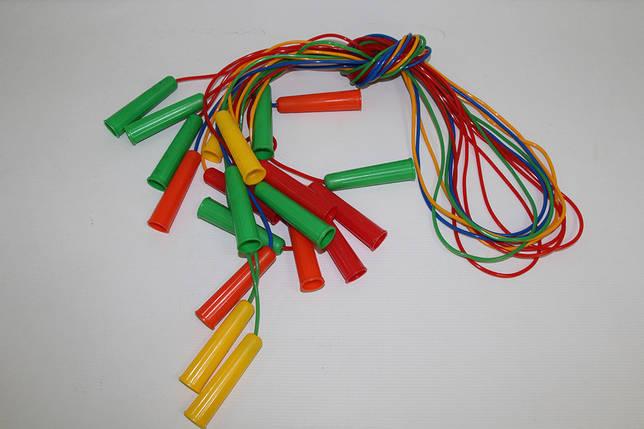 Скакалка кольорова 220 див. БАМСИК, фото 2