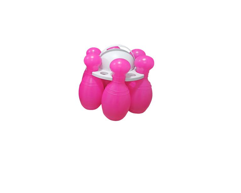 Кегли №2 розовые   БАМСИК