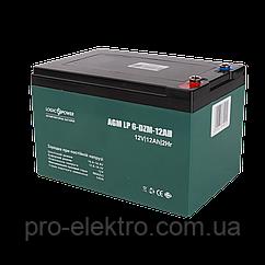 Тяговий свинцево-кислотний акумулятор LP 6-DZM-12 - під Болт М5
