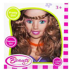"""Игрушка Кукла-манекен для причёсок """"Beauty"""", фиолетовая (вид 5) 131-1/2/3/4/5"""