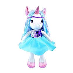 Мягкая Детская Кукла FANCY Единорог 35 см (KUKL4)
