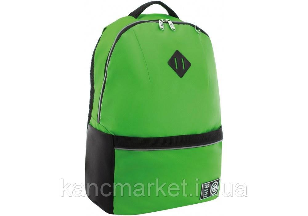 "Рюкзак 17"" (зеленый 1 отд.)"