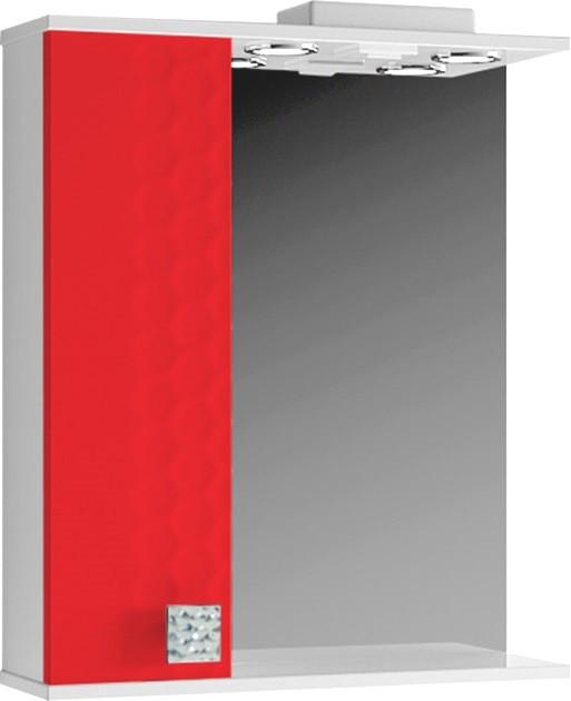 Зеркало для ванной 60 см с встроенным светильником ВанЛанд НЕО Н3 1-60