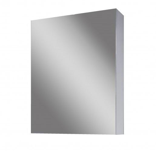 Дзеркальна шафа для ванної 40 см сірого кольору САНСЕРВИС Стандарт ДЗ OB I - 45 графіт