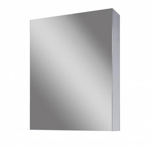 Дзеркальна шафа для ванної 40 см сірого кольору САНСЕРВИС Стандарт ДЗ OB I - 45 графіт, фото 2
