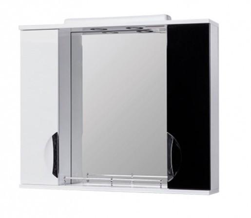 Дзеркало у ванну 75 см з накладними ручками КВЕЛ ГРАЦІЯ Z11 Грація 75 Чорний