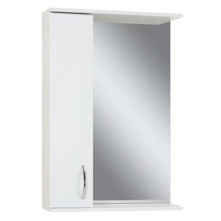 Недороге дзеркало у ванну кімнату 55 см Сансервис ЕКОНОМ ДЗ Економ ZL-55 L, фото 2