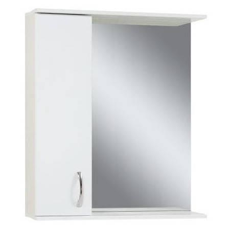 Дзеркало у ванну кімнату 65 см для будинку Сансервис ЕКОНОМ ДЗ Економ ZL-65 L, фото 2