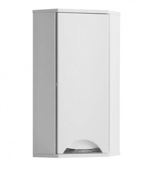 Навесной шкаф для ванной 30 см угловой Квел Грация 30 угловой