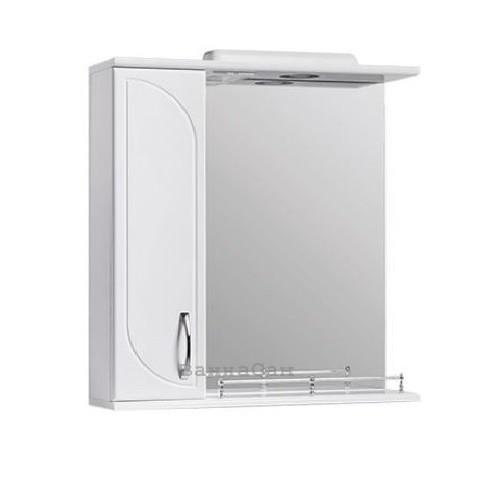 Дзеркало у ванну 65 см з глянцевими фасадами Квелл РОНДО Z1 Рондо Ліве 65