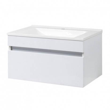 Тумба с раковиной в ванную 100 см с ящиком Сансервис ЭЛИТ-Н ТП Еліт-N Еліт -100 белый, фото 2