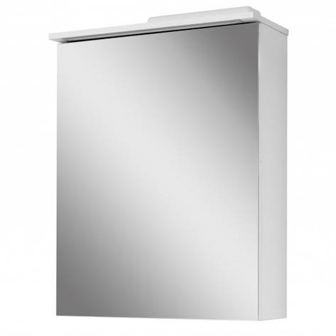 Зеркальный шкаф в ванную комнату 60 см Сансервис ТРИО ДЗ Тріо- 60, фото 2