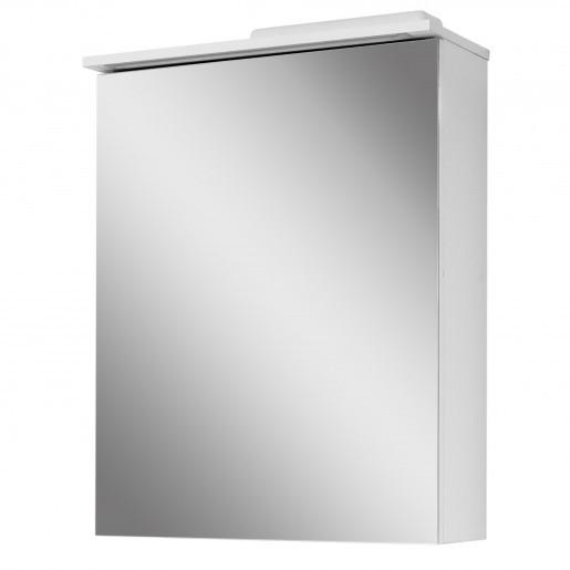 Зеркальный шкаф в ванную комнату 60 см Сансервис ТРИО ДЗ Тріо- 60