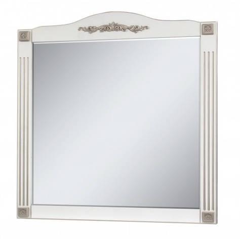 Дзеркало у ванну кімнату 95 см в ретро стилі Сансервис РОМАНС ДЗ Romance 100 gold, фото 2