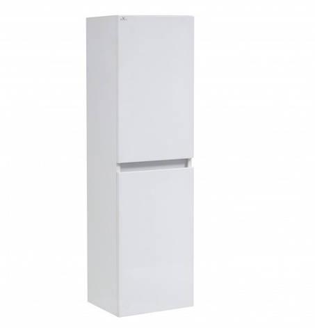 Пенал для ванної з дверцятами 35 см Сансервис Еліт ПП Р-35-N Еліт білий L, фото 2
