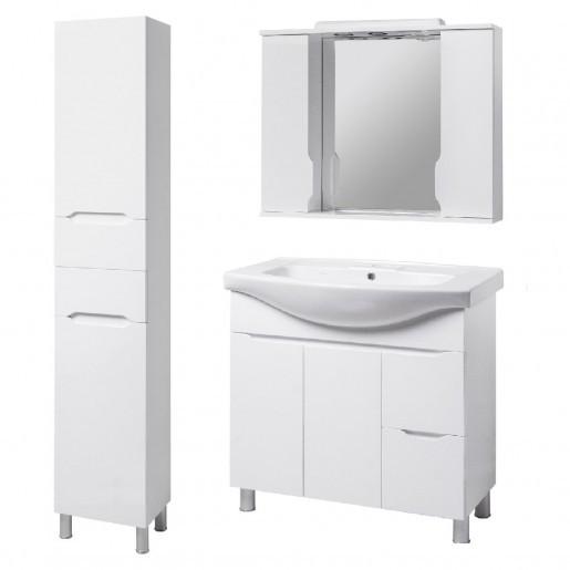Комплект меблів для ванної кімнати 95 см великий КВЕЛЛ Вісла 23279-22211-19872