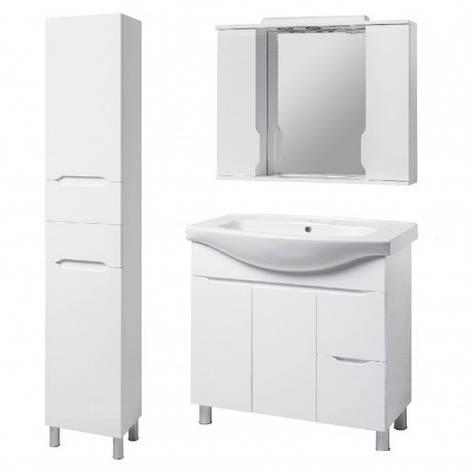 Комплект меблів для ванної кімнати 95 см великий КВЕЛЛ Вісла 23279-22211-19872, фото 2