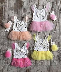 Оптом Боди-Платье для Малышей  6-18м. Турция