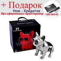 Bluetooth колонка Aerobull DOG METALLIC S5 c функцією speakerphone, фото 1
