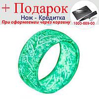 Флуоресцентне Кільце Rainbow розмір 8 Зелений, фото 1