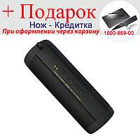 Динамик T2 Bluetooth водонепроницаемый TF карты FM Hi-Fi портативная колонка  Черный, фото 1