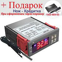 Контроллер температуры STC-3000 цифровой 12V, фото 1