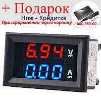 Цифровой вольтметр амперметр DC 100 В 10 А, фото 1