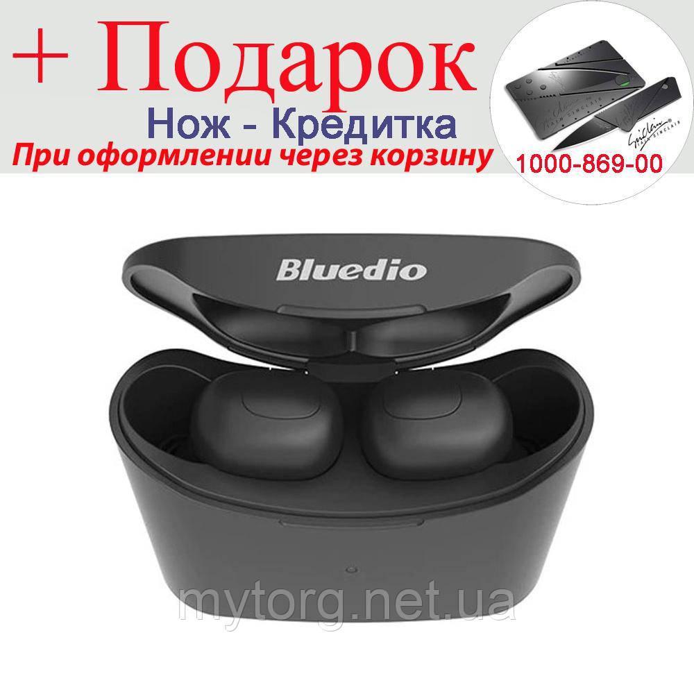 Гарнитура Bluedio T-elf Bluetooth 5.0 беспроводная  Черный