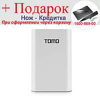 Корпус для Power Bank Tomo M4 з РК індикацією 4x18650  Білий