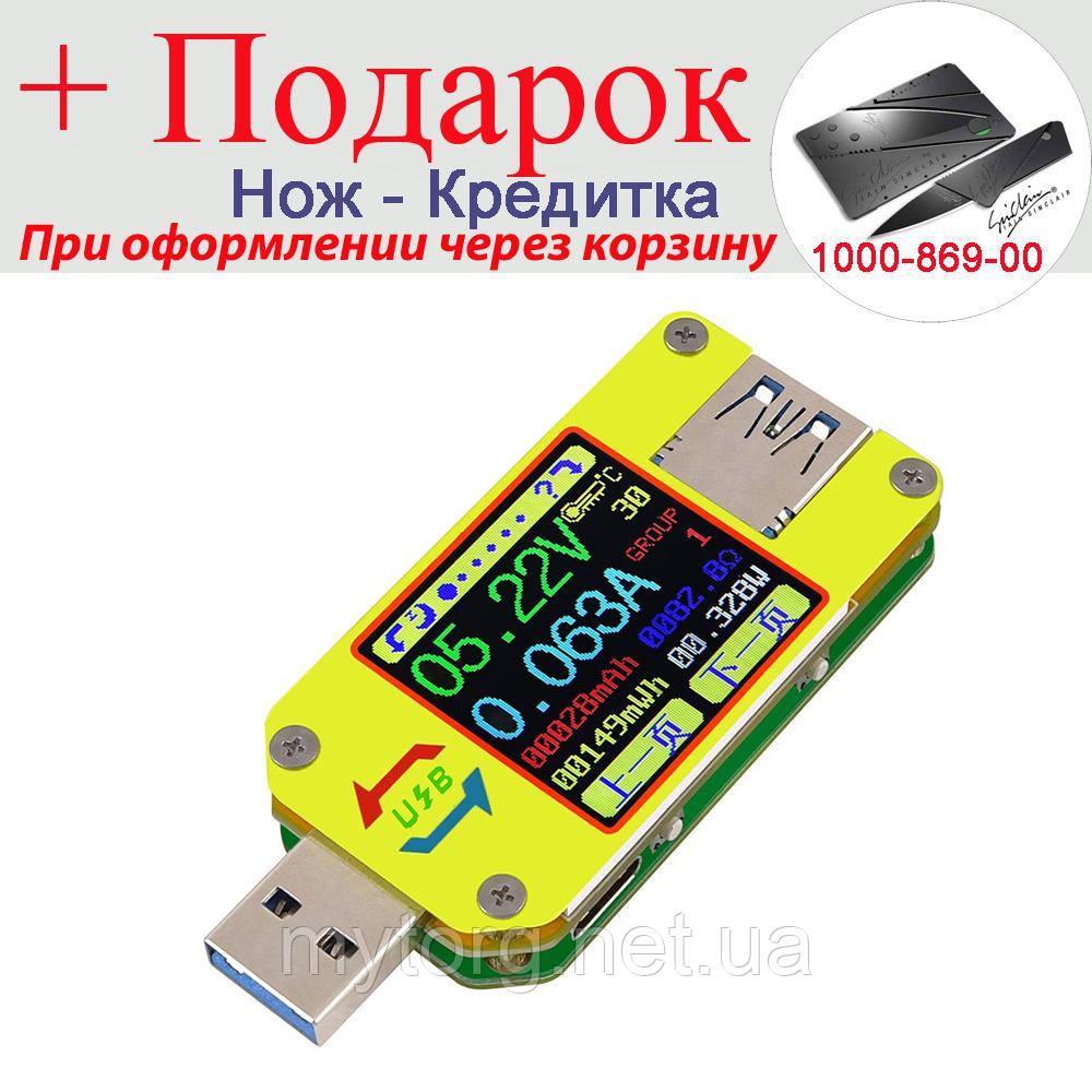 USB тестер тока напряжения емкости Bluetooth Android RD UM34C