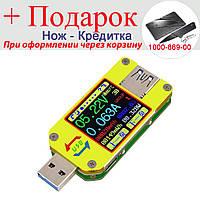 USB тестер тока напряжения емкости Bluetooth Android RD UM34C, фото 1