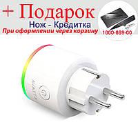 Розумна Wi-Fi розетка Avatto16A 16 А EU RGB, фото 1