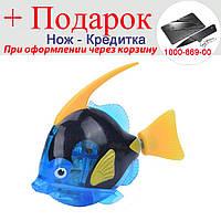 Рыбка Robofish на батарейках в аквариум Большая Синий, фото 1