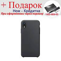 Чехол накладка для iPhone XR силиконовая iPhone XR Черный, фото 1