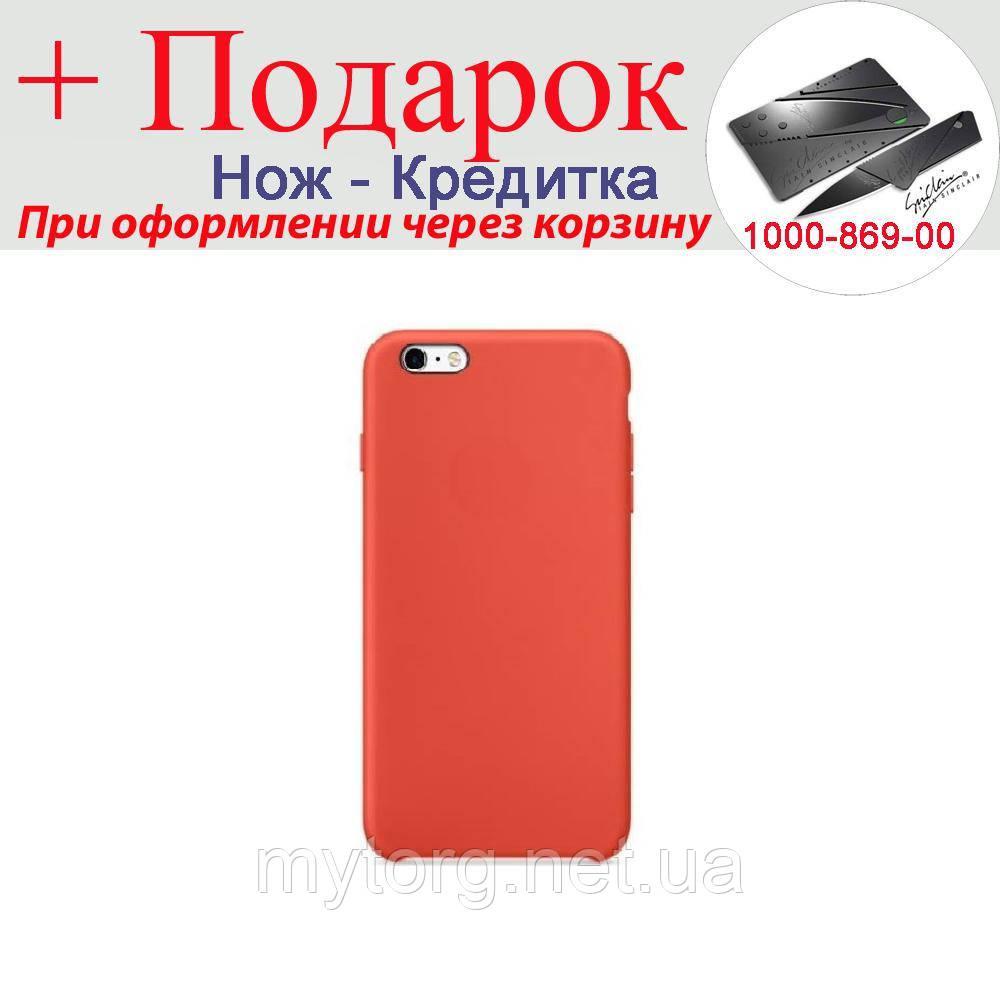 Чехол накладка для iPhone 6 Plus силиконовая iPhone 6 Plus Красный