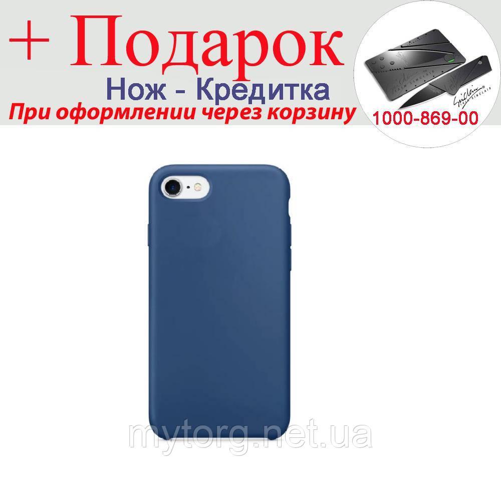Чохол накладка для iPhone 6 Plus силіконова iPhone 6 Plus Синій