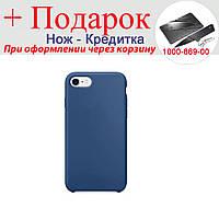 Чохол накладка для iPhone 6 Plus силіконова iPhone 6 Plus Синій, фото 1